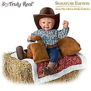 "Sherry Rawn ""Li'l Blake"" Doll With Saddle Seat Blanket"