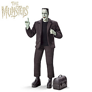 "HERMAN MUNSTER Musical Figure Plays ""The Munsters"" Theme"