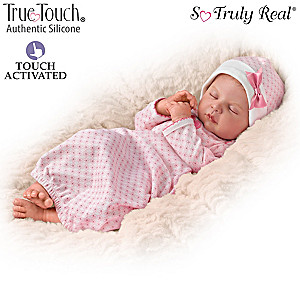 "Ina Volprich ""Sweet Dreams Serenity"" Breathing Baby Doll"