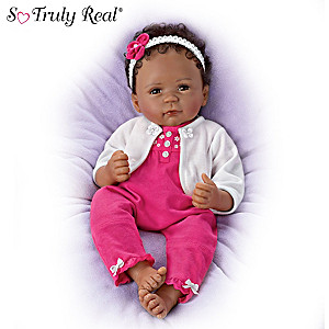 "Linda Murray ""Simone"" Poseable Baby Doll"