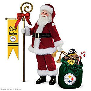 "Steelers ""Yuletide Pride"" Collector's Edition Santa Claus"