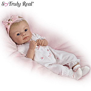 """Sherry Rawn """"Little Rosebud"""" Baby Doll With Two Outfits"""