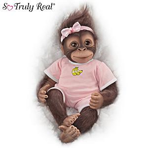 "So Truly Real ""Nalani"" Lifelike Poseable Monkey Doll"