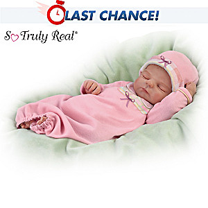 "Violet Parker ""Sleep Tight, Emma"" Lifelike Baby Doll"