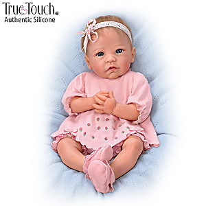 "Linda Murray ""Claire"" Silicone Baby Girl Doll"