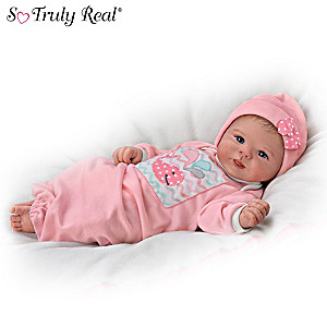 "Violet Parker ""Little Squirt"" Lifelike Baby Girl Doll"