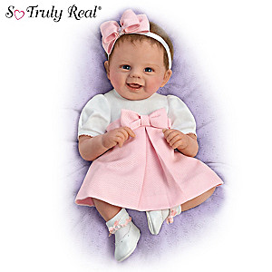 "Violet Parker ""Bow To Toe Bailey"" Lifelike Baby Doll"