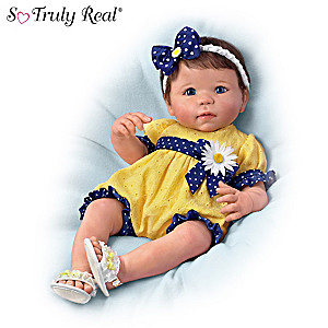"Linda Murray ""You Are My Sunshine"" Lifelike Baby Girl Doll"