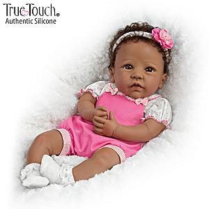 "Linda Murray ""Tasha"" African-American Silicone Baby Doll"