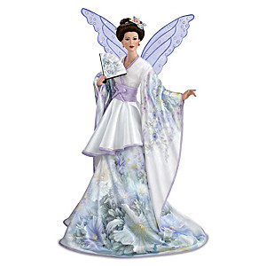 "Lena Liu ""On Majestic Wings"" Fairy Porcelain Portrait Doll"