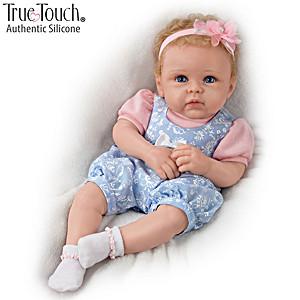 "Linda Murray ""Little Livie"" Lifelike Silicone Baby Girl Doll"