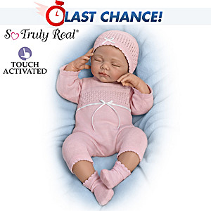 """Andrea Arcello """"Beautiful Dreamer"""" Touch-Activated Baby Doll"""