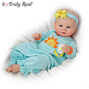 "Violet Parker ""Pocket Full Of Sunshine"" Weighted Baby Doll"