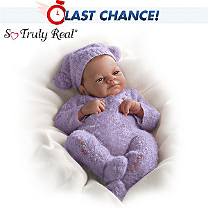 Lifelike Baby Doll Feels Warm To The Touch