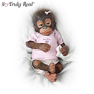 Lifelike Monkey Dolls Support Rainforest Preservation