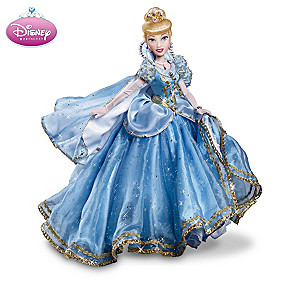 """Royal Disney Princess"" Ball-Jointed Doll Collection"