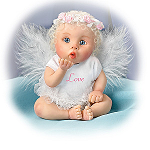 Miniature Angel Baby Dolls With Sentiments