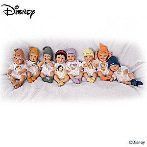 Disney Snow White And The Seven Dwarfs Mini Doll Collection