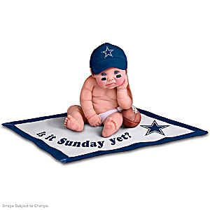 NFL Licensed Dallas Cowboys Baby Doll Collection