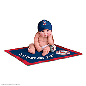 Boston Red Sox MLB Licensed Baby Doll Collection
