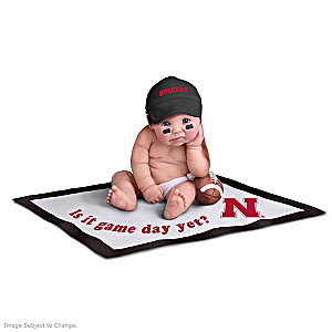 Nebraska Huskers Fan Baby Doll Collection