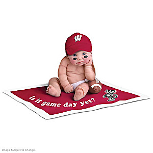 Wisconsin Badgers Fan Baby Doll Collection