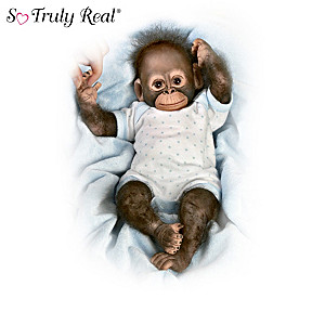 Cindy Sales Realistic Poseable Monkey Doll Collection