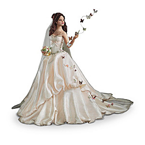 """Anna Hardman """"Wishes On Wings"""" Bride Doll Collection"""