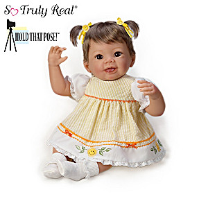 Hold That Pose! Baby Girl Dolls By Linda Murray