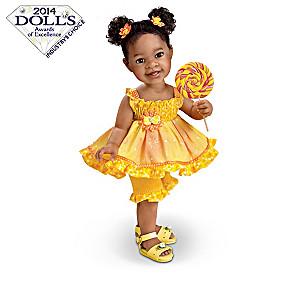 """Jane Bradbury """"What Little Girls Are Made Of"""" Child Dolls"""