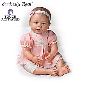 Lifelike Baby Dolls Respond To Touch With Sound And Motion