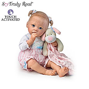 "Linda Murray ""Ready for Naptime"" Interactive Baby Dolls"