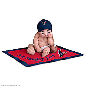 NFL Licensed Houston Texans Baby Doll Collection