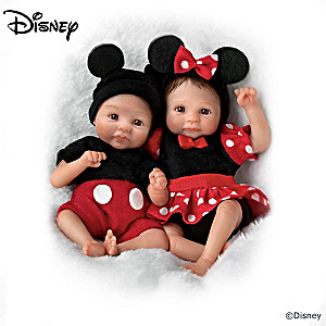 """Magical Moments With Disney"" Miniature Baby Doll Collection"
