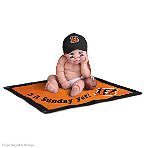 NFL Licensed Cincinnati Bengals Baby Doll Collection