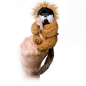 Angelica Holm Poseable Amazon Finger Monkey Doll Collection